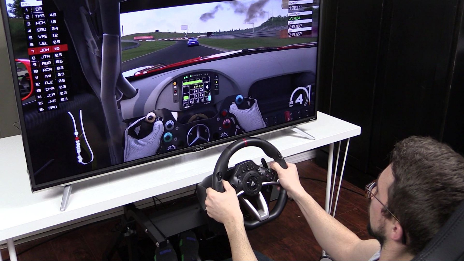 HORI Racing Wheel Apex Review - Is a $99 Wheel a Good Idea? - Inside