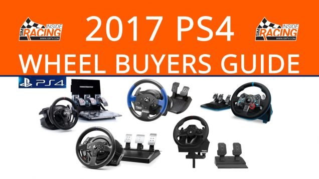 2017 PlayStation 4 Racing Wheel Buyers Guide