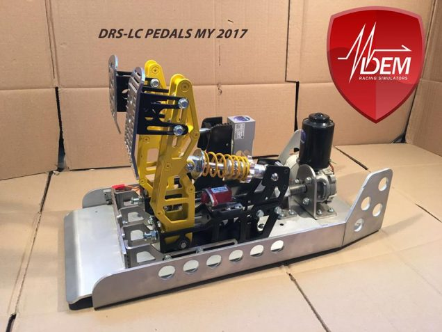 DEM Racing Simulators – DRS-LC Pedals MY