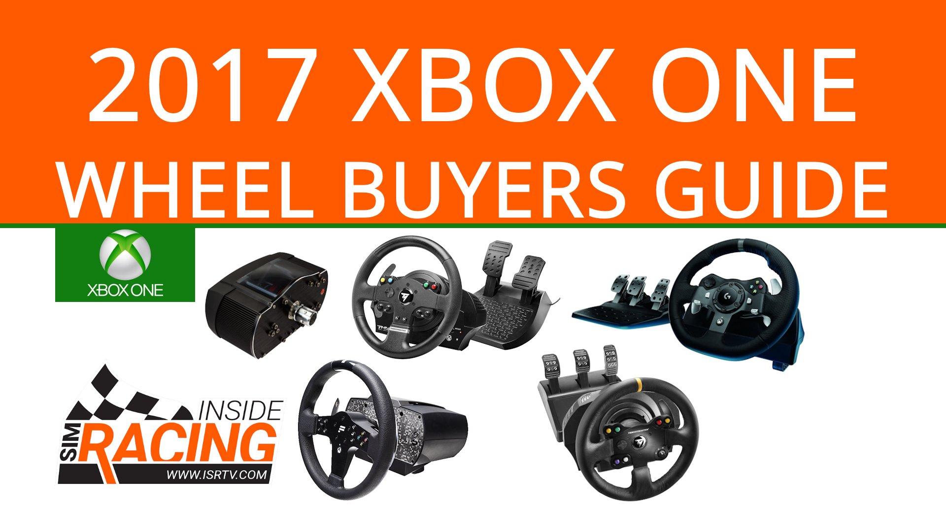 2017 Xbox One Steering Wheel Buyers Guide Inside Sim Racing