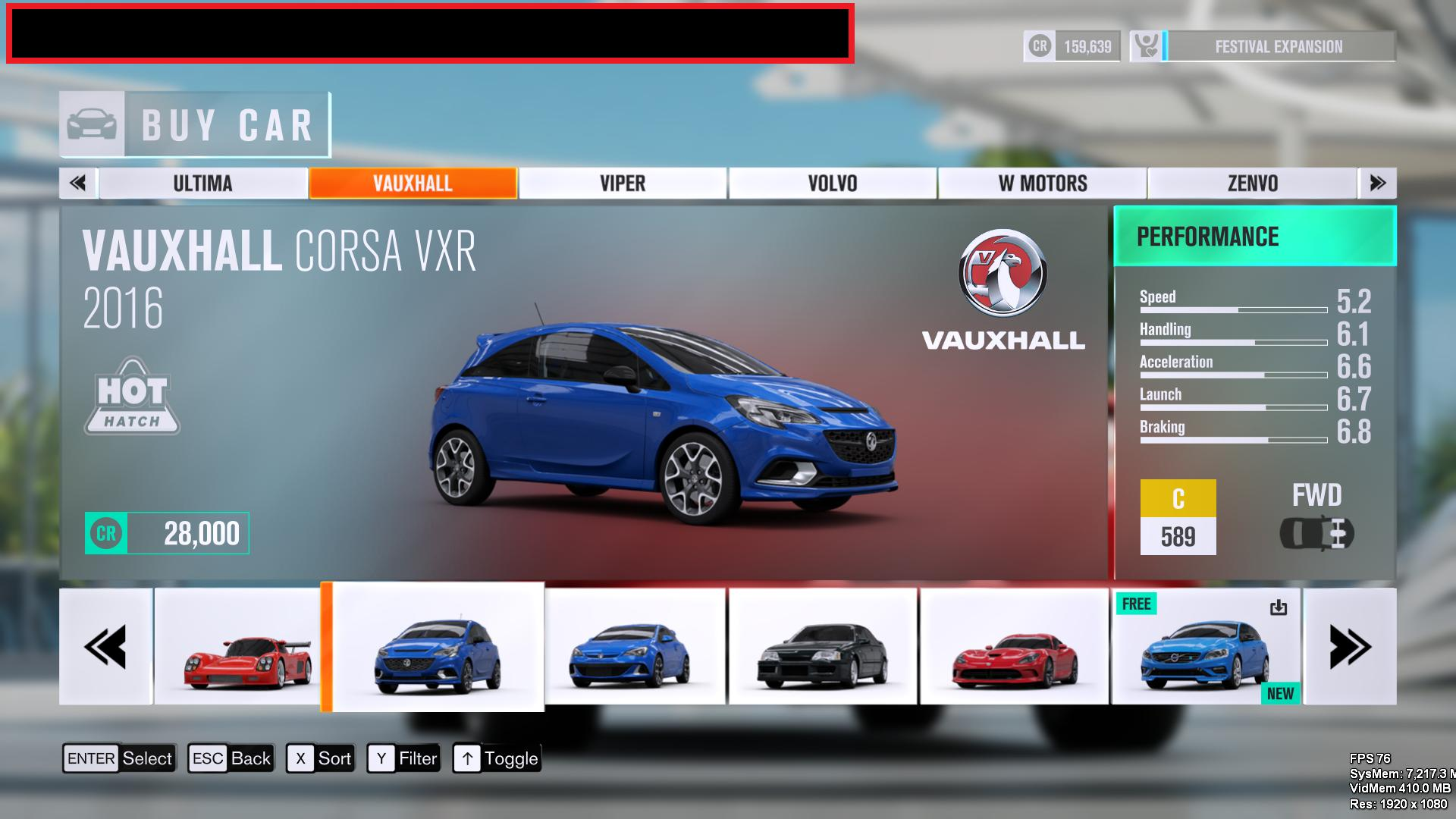 Accidentally Released Developer Version Of FH3 Reveals