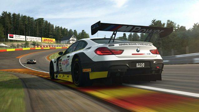 RaceRoom BMW M6 GT3 Spa