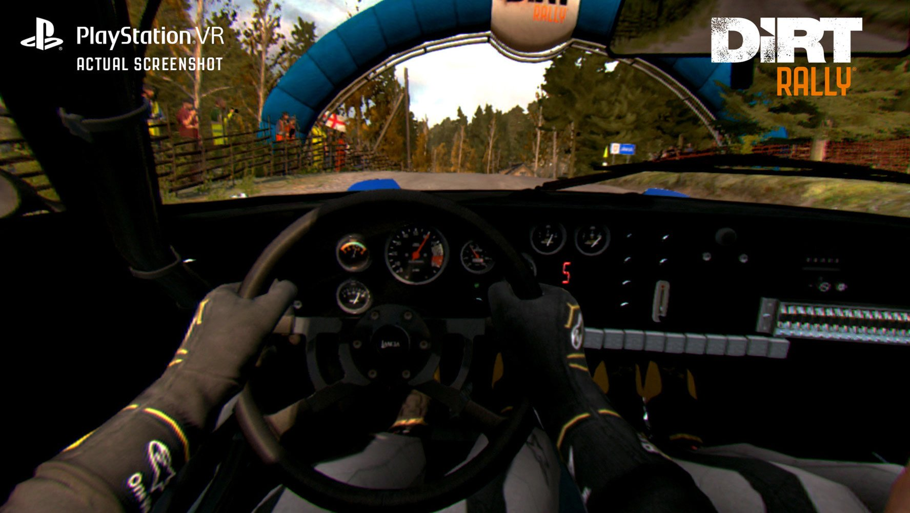 DiRT Rally PS VR in game