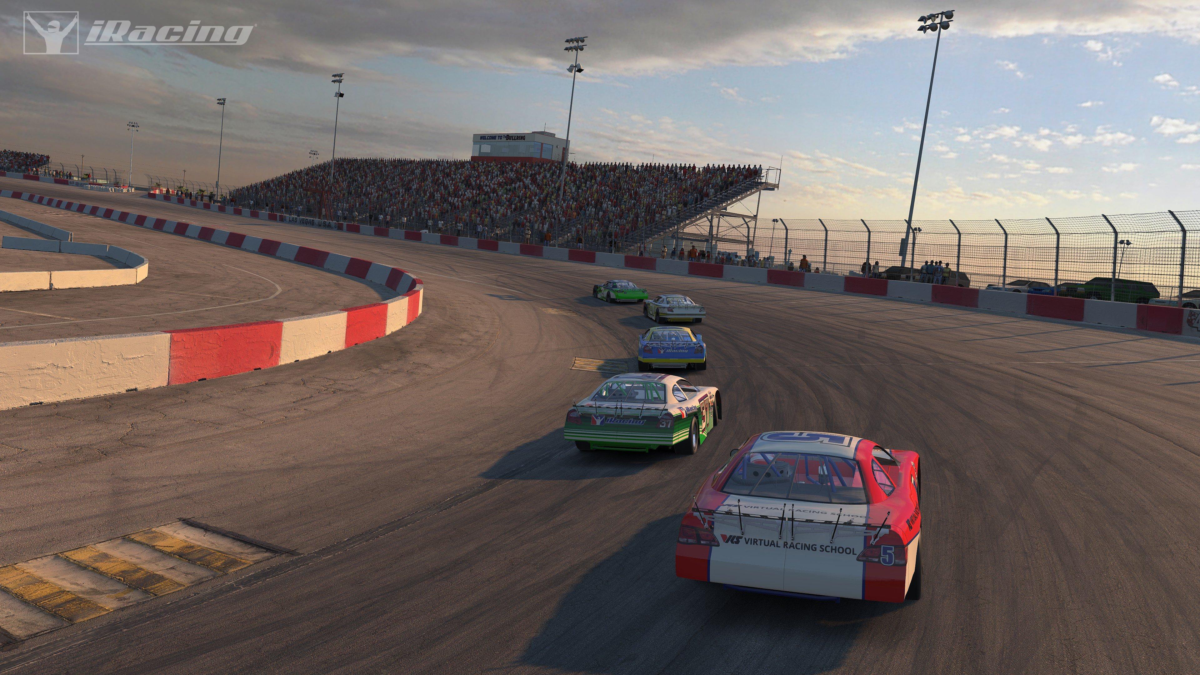 The Bullring at Las Vegas Motor Speedway Coming to iRacing - Inside