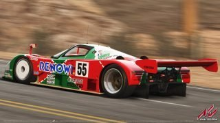 Assetto Corsa Mazda 787B Black Cat County