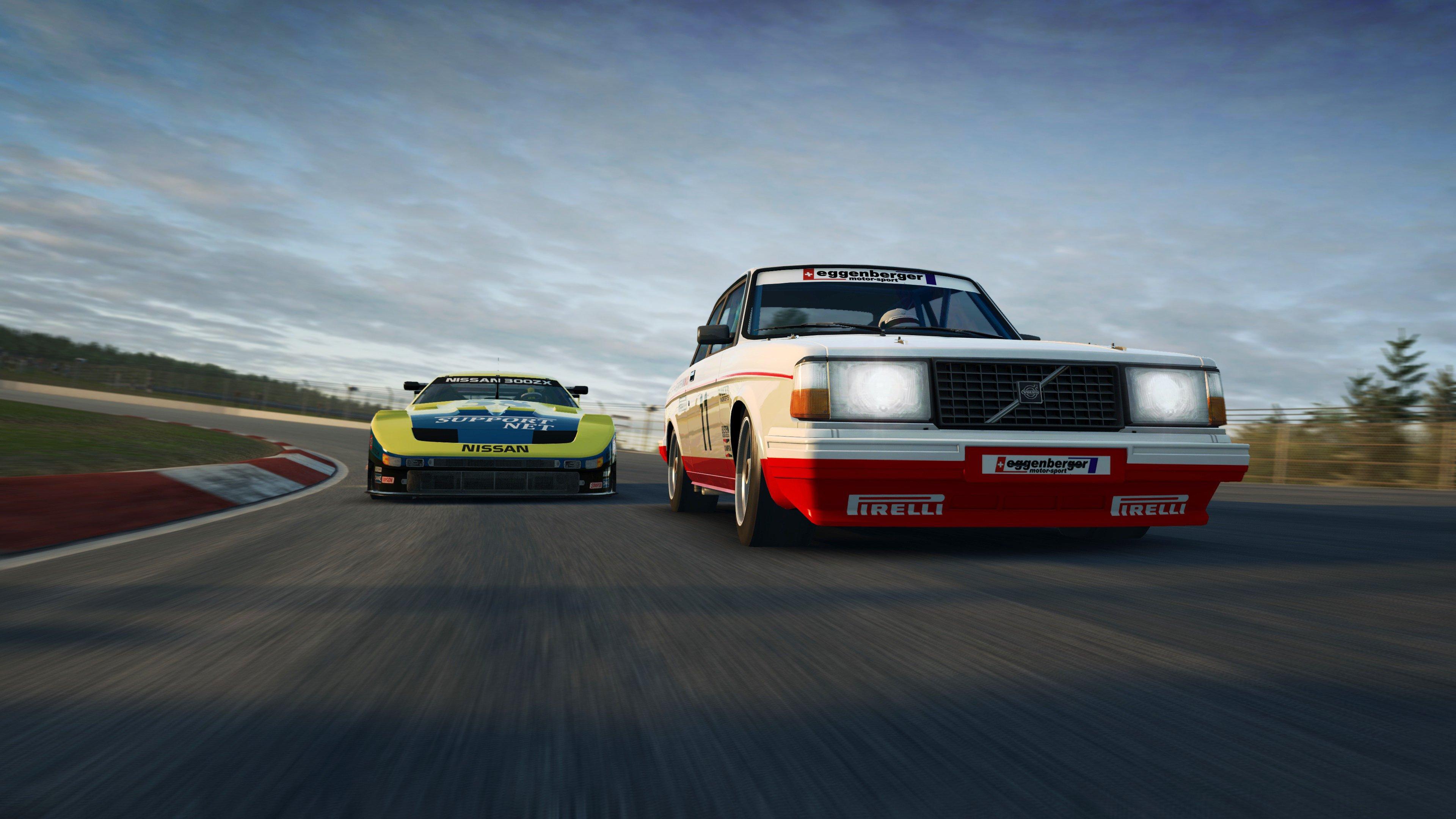 RaceRoom Anderstorp Volvo Nissan close up front 1