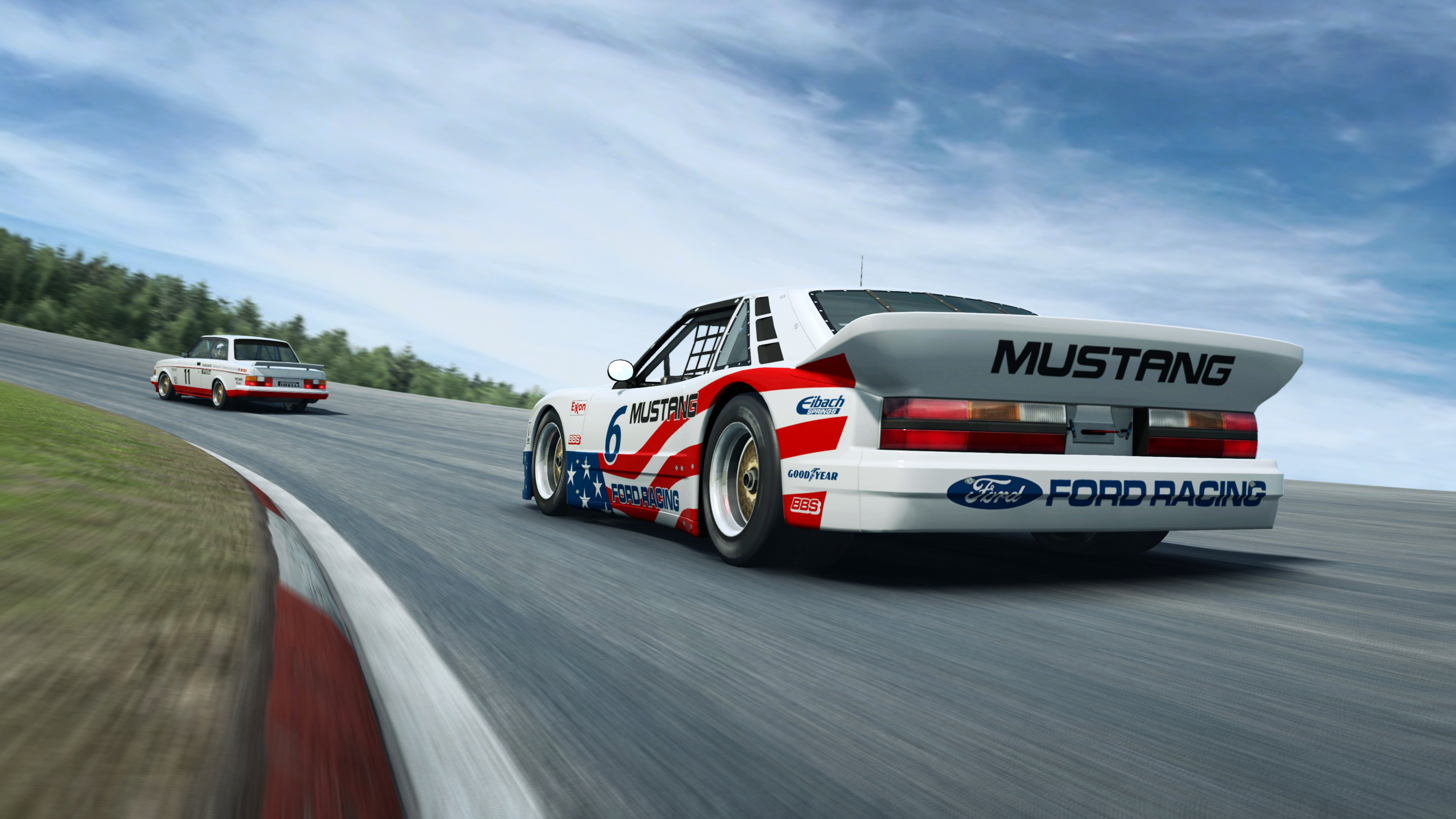 RaceRoom Anderstorp Ford back close up
