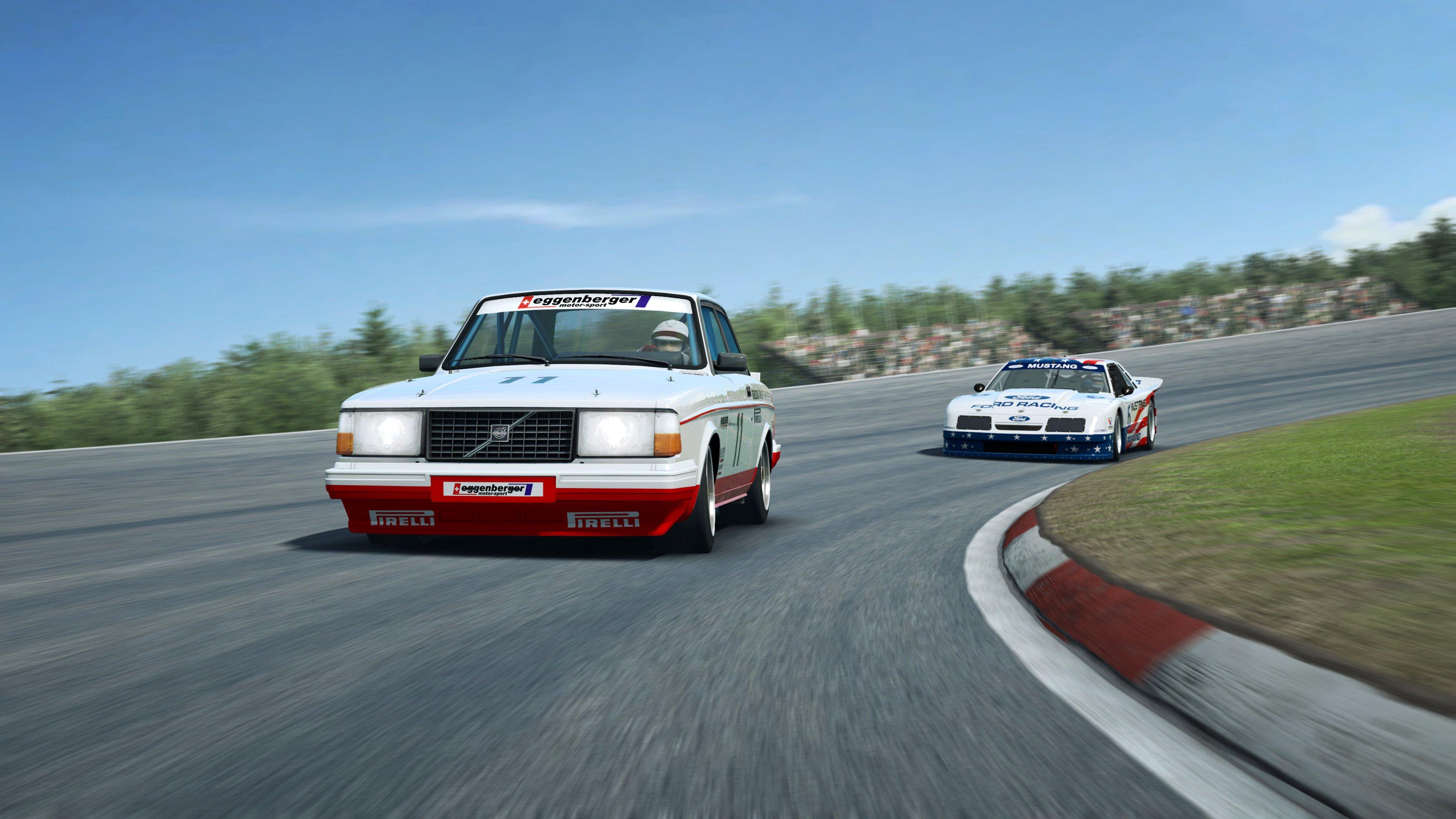 RaceRoom Anderstorp Volvo front close up