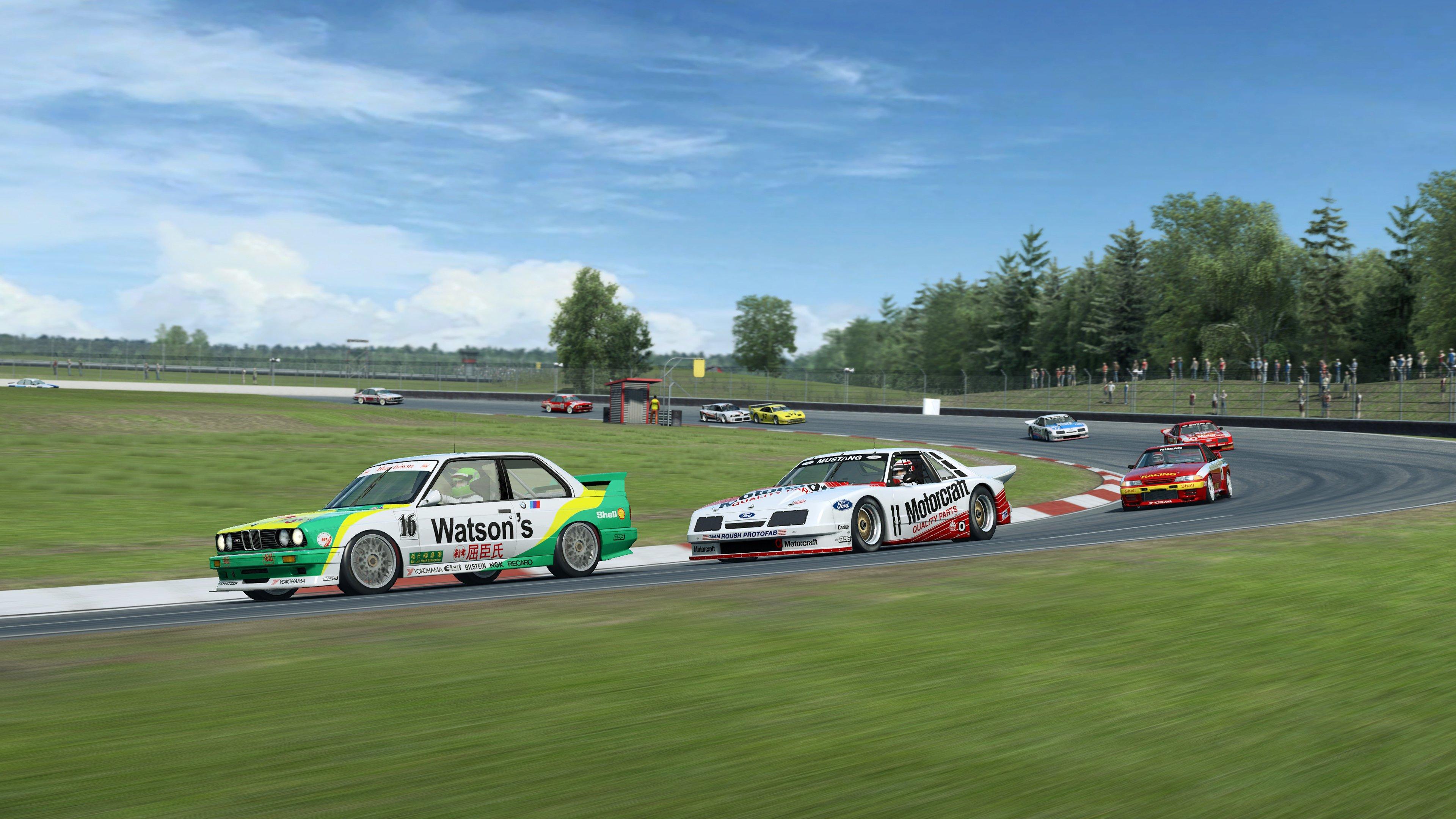 RaceRoom Ford, BMW and Nissan racing