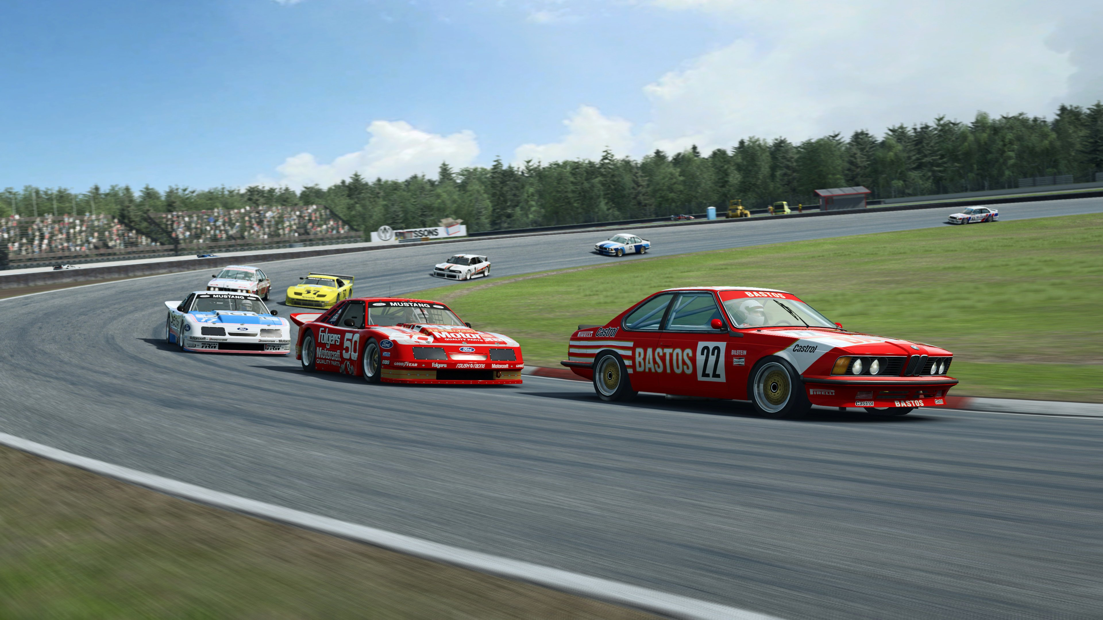 RaceRoom Ford and BMW racing