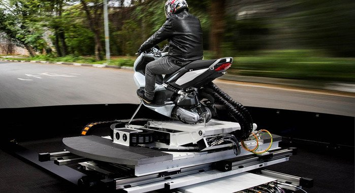 Ansible Motion motorcycle