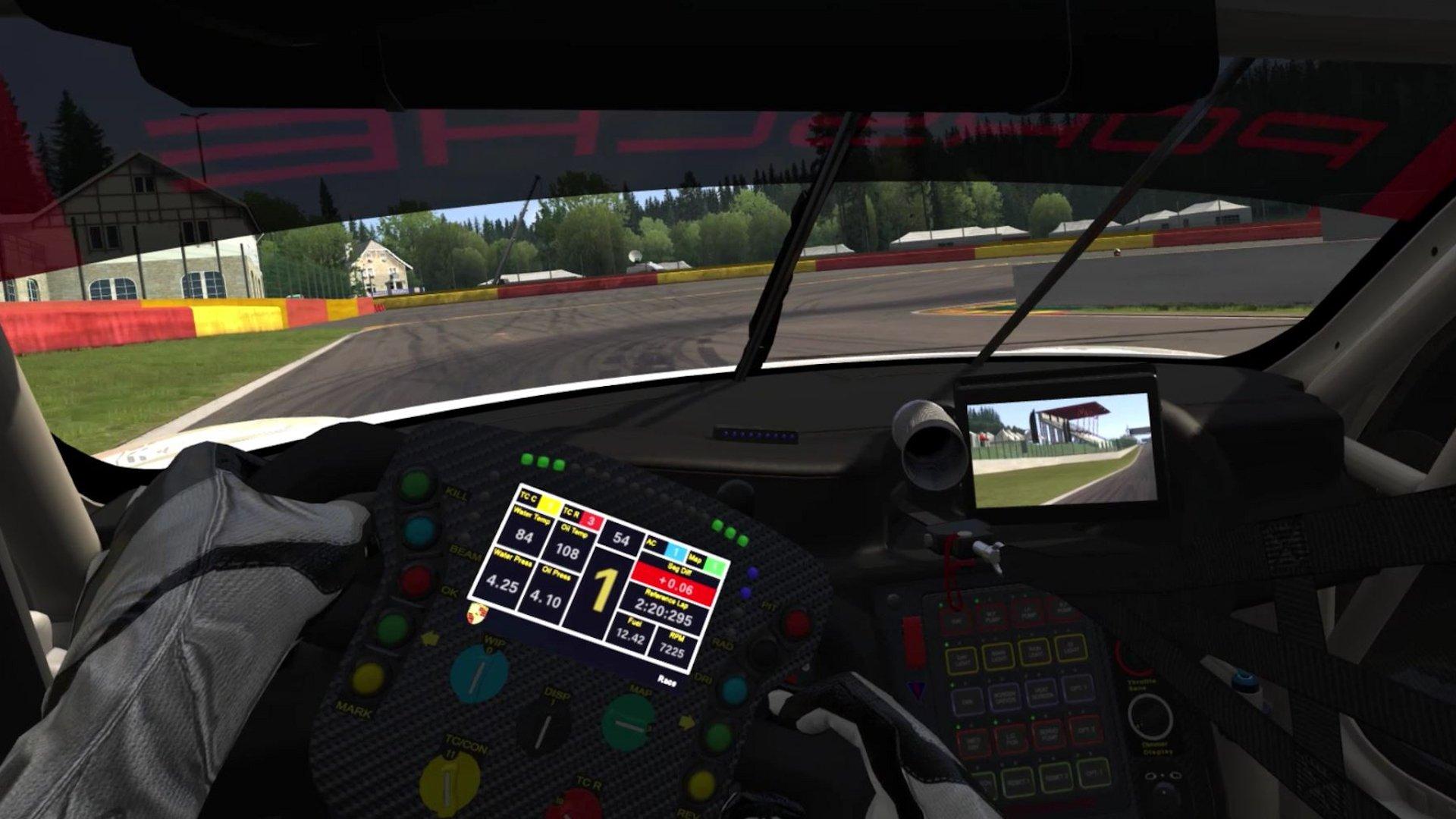 assetto corsa 2017 porsche 911 rsr review inside sim racing. Black Bedroom Furniture Sets. Home Design Ideas