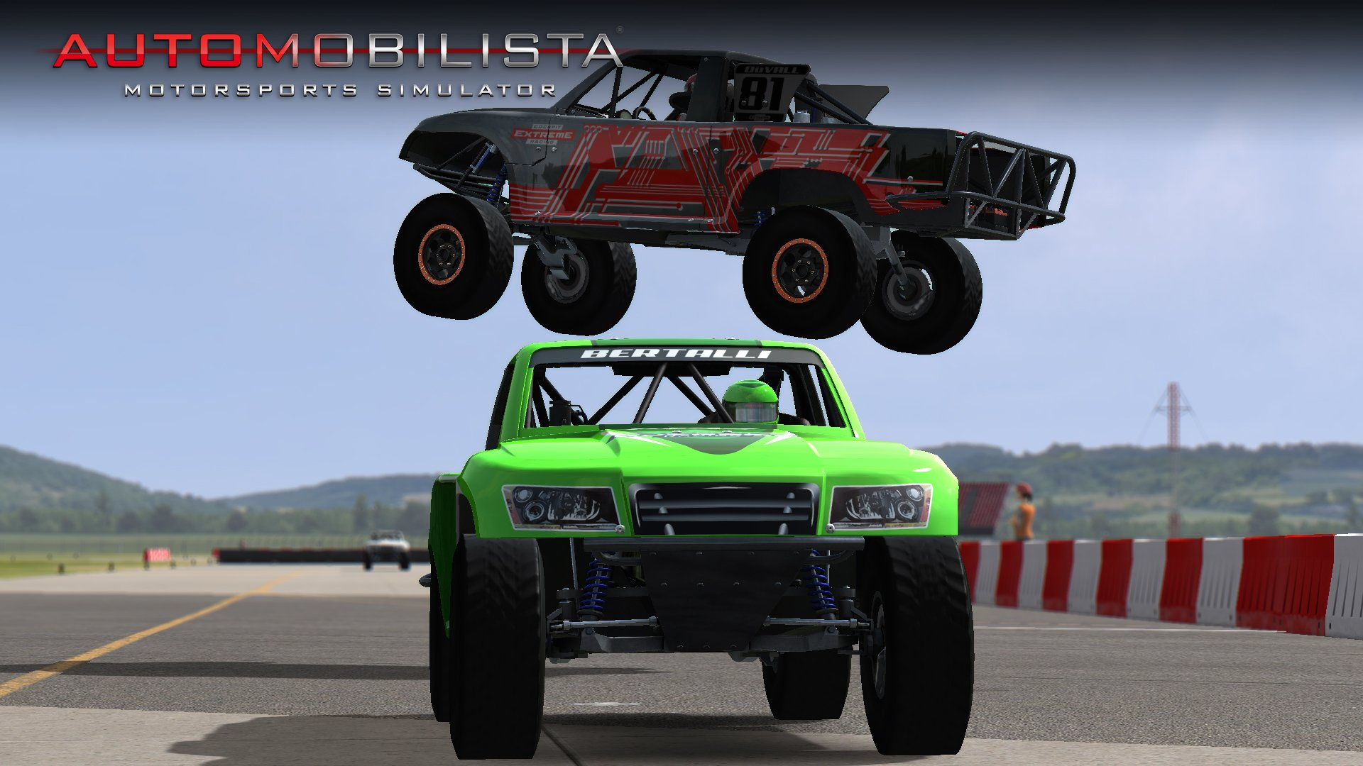 Automobilista Trophy Truck big jump