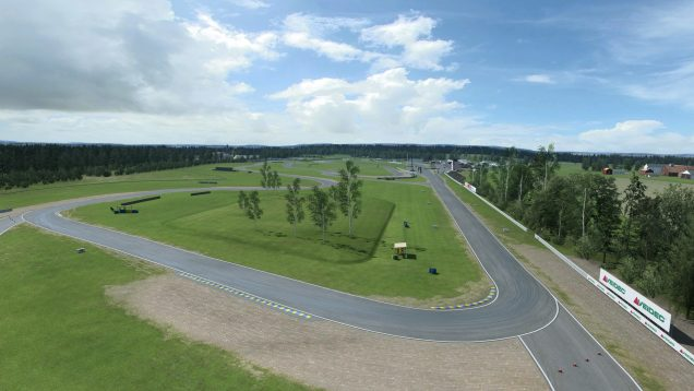 Karlskoga Motorstadion drone shot