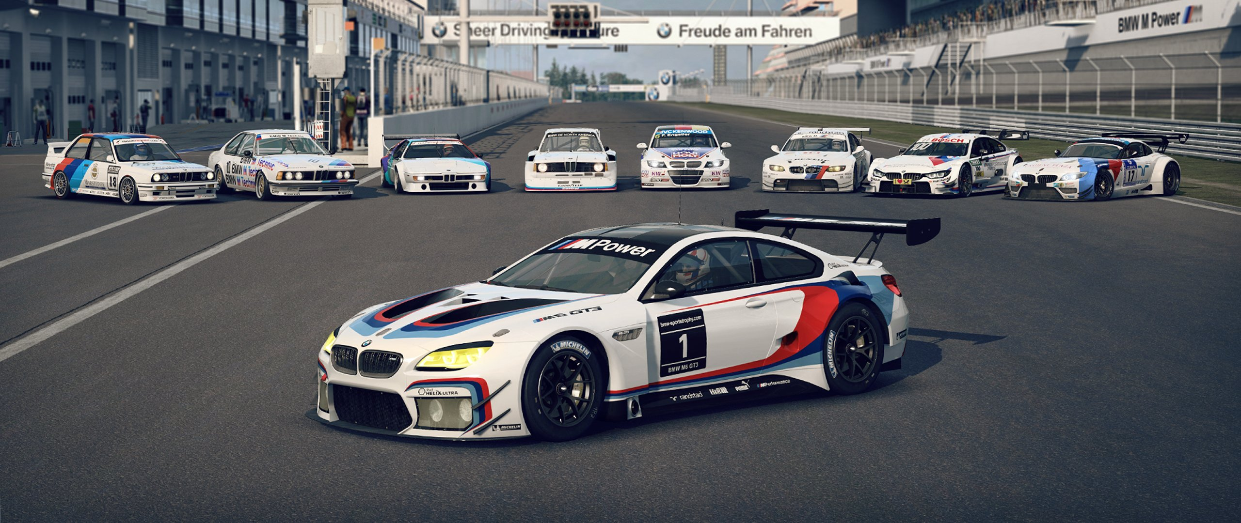 raceroom bmw m6 gt3 now available inside sim racing. Black Bedroom Furniture Sets. Home Design Ideas