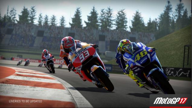 MotoGP 17 Valentino Rossi and Marc Marquez