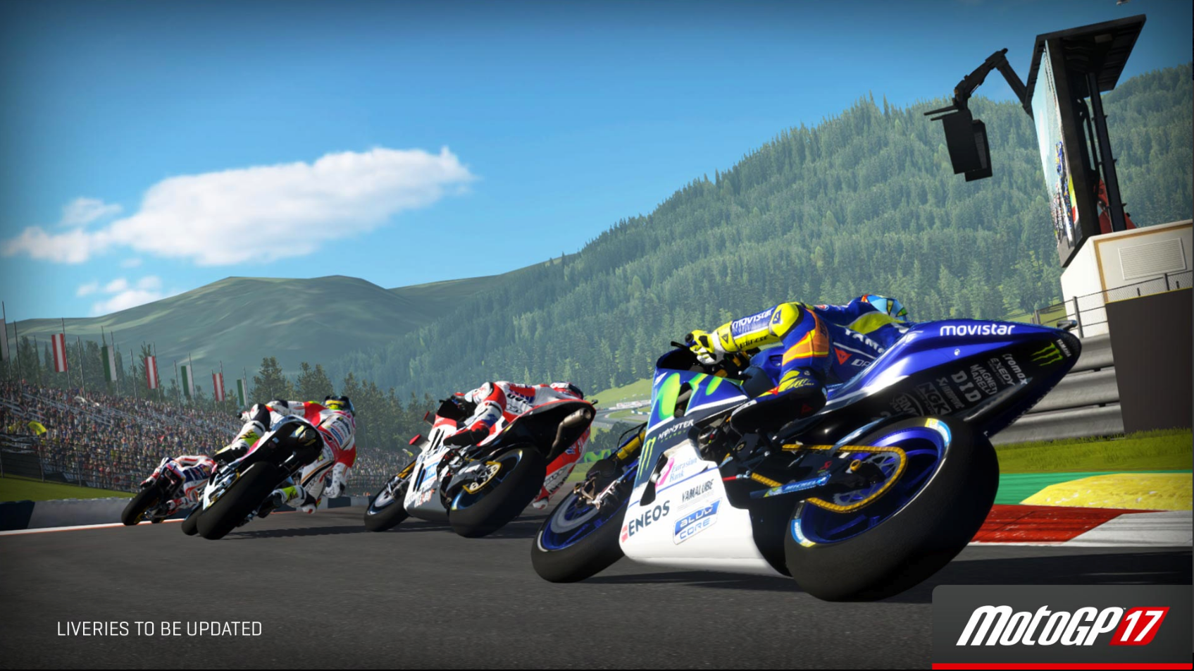 MotoGP 17 Red Bull Ring first turn