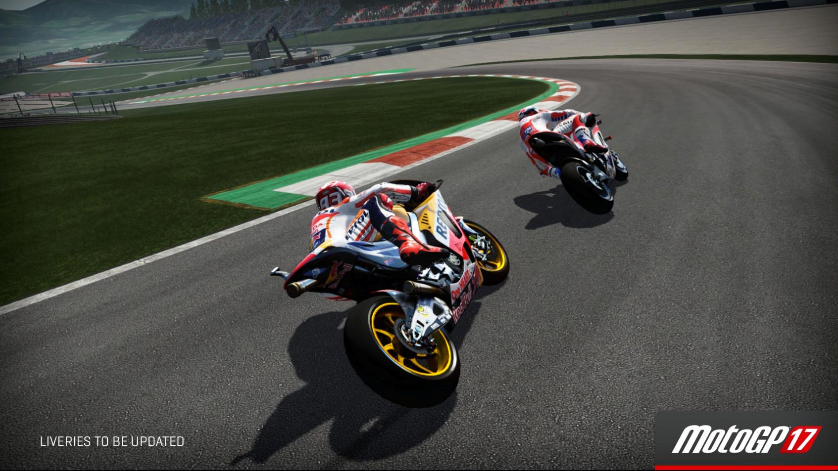 MotoGP 17 Red Bull Ring turn 5