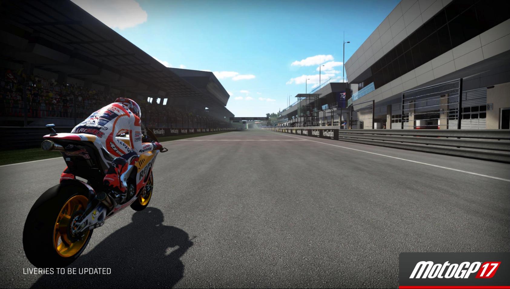 MotoGP 17 Red Bull Ring main straight