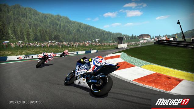 MotoGP 17 Red Bull Ring turn 2