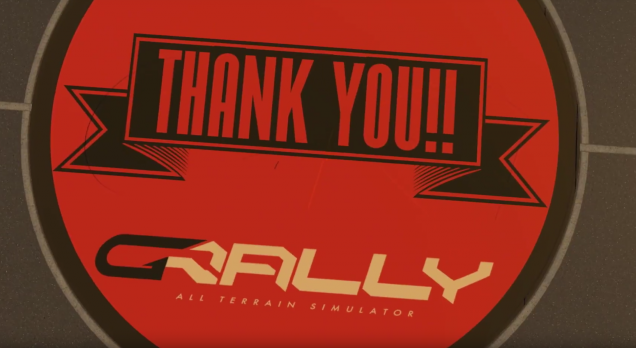gRally thank you