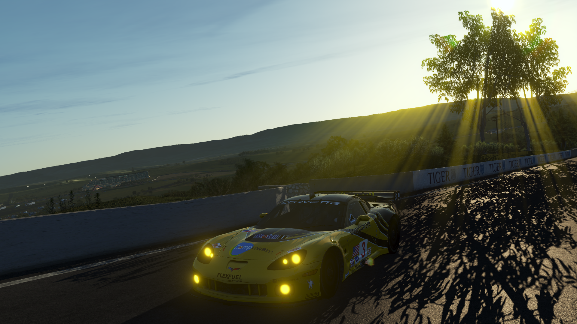 rFactor 2 improved lighting Bathurst