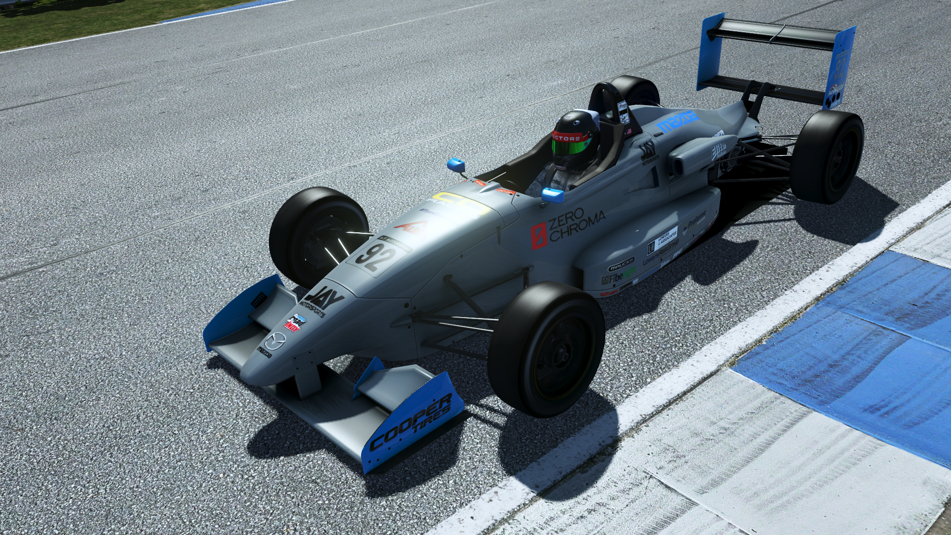 rFactor 2 improved shadows
