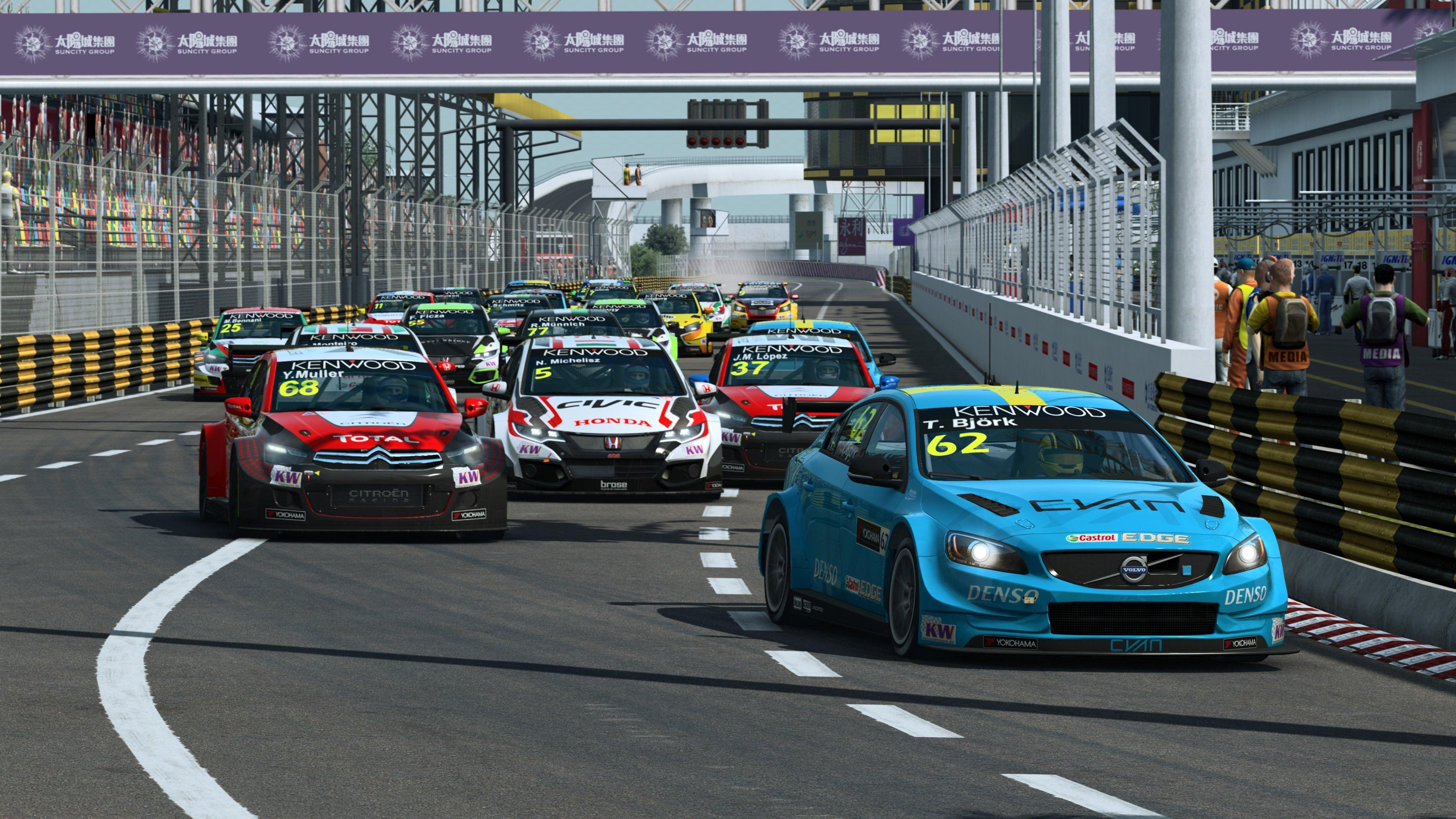 RaceRoom WTCC 2016 Macau