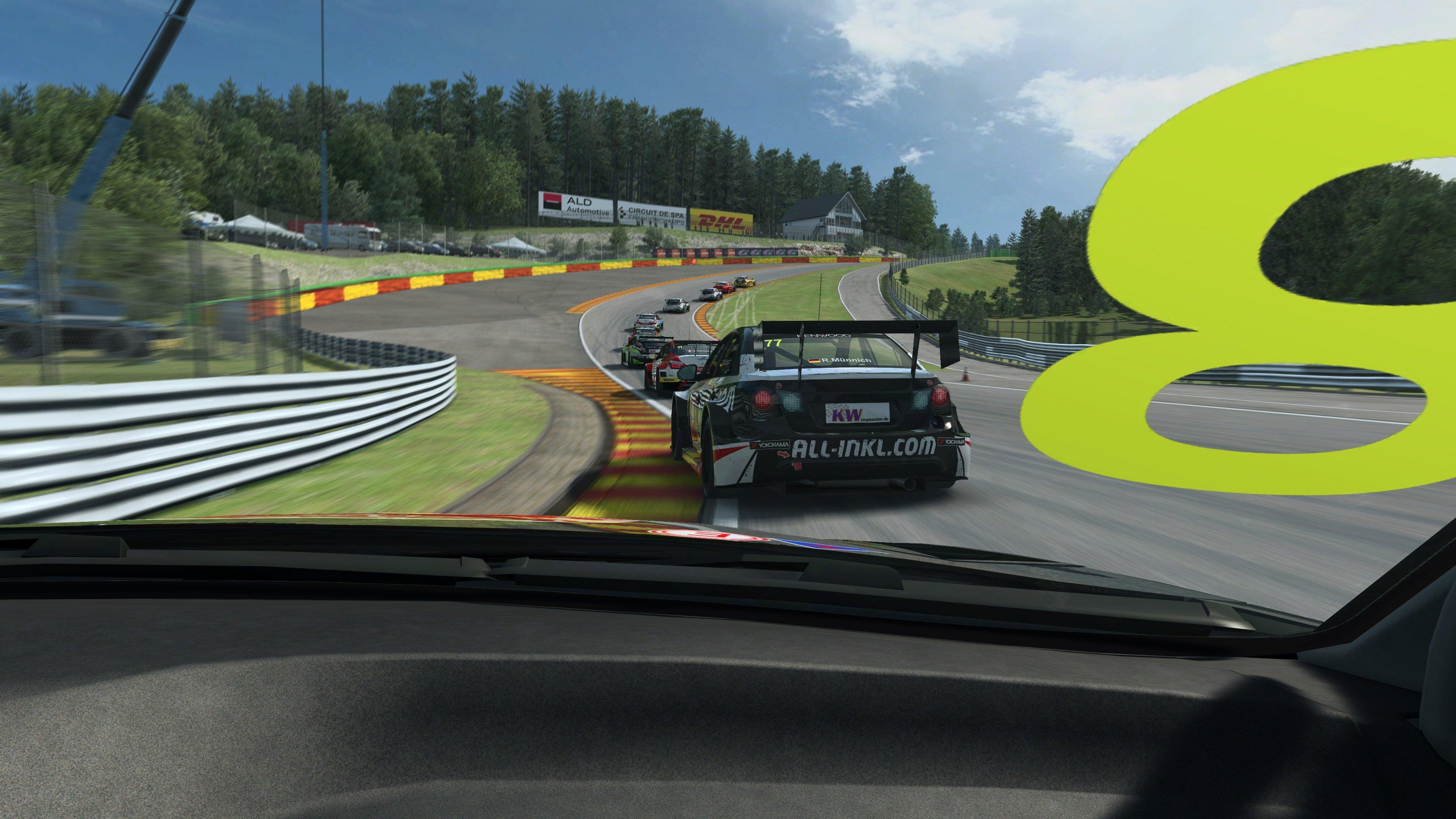 RaceRoom WTCC Spa Eau Rouge