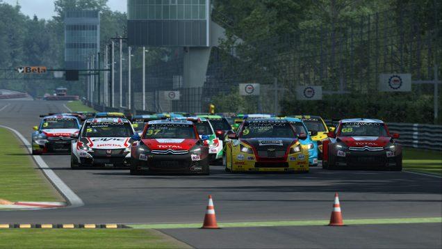 RaceRoom WTCC Monza start