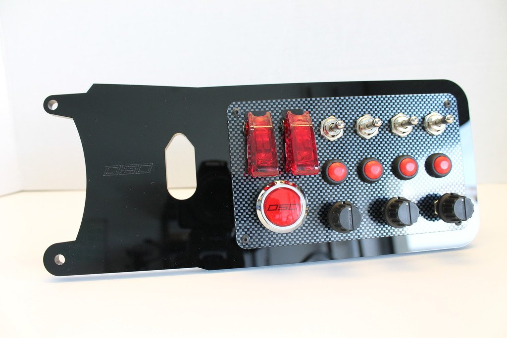 Derek Speare Designs Fanatec CSL Elite button panels prototype right