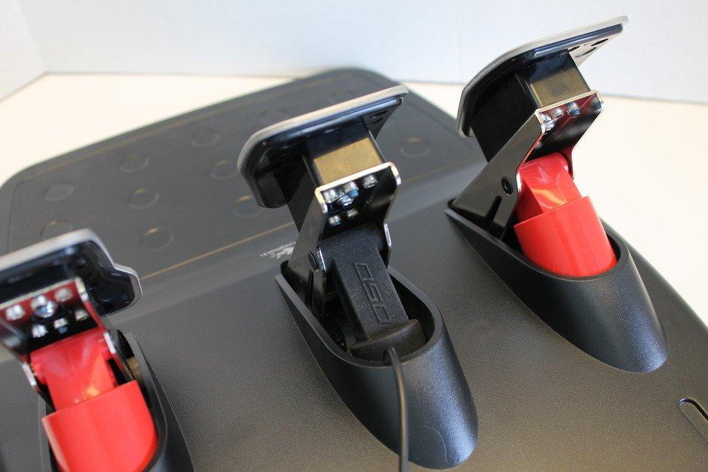 Derek Speare Designs Logitech G25 G27 load cell kit prototype back