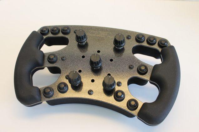 Derek Speare Designs Logitech G27 formula rim prototype front