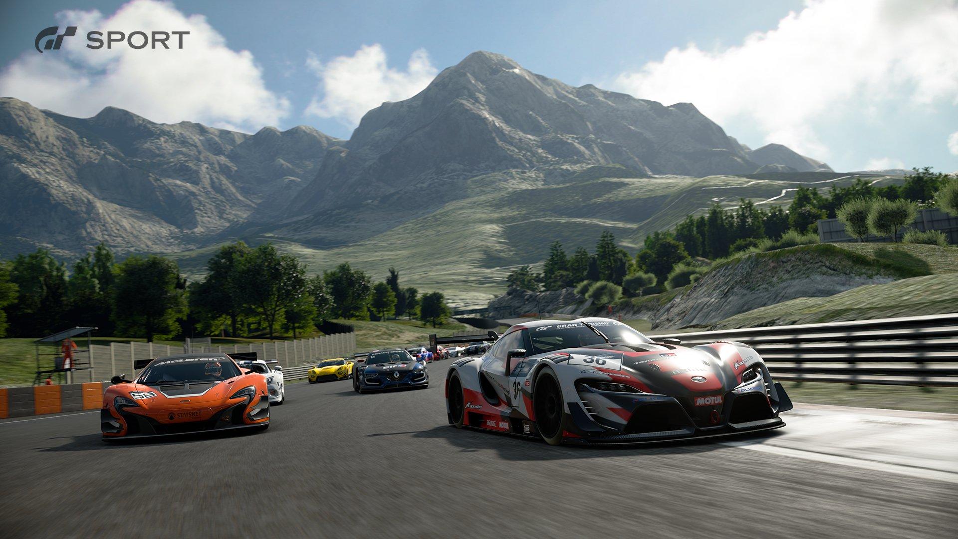 Gran Turismo Sport Dragon Trail 2