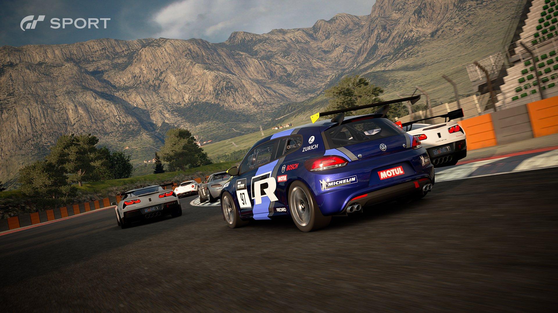 Gran Turismo Sport Dragon Trail 3