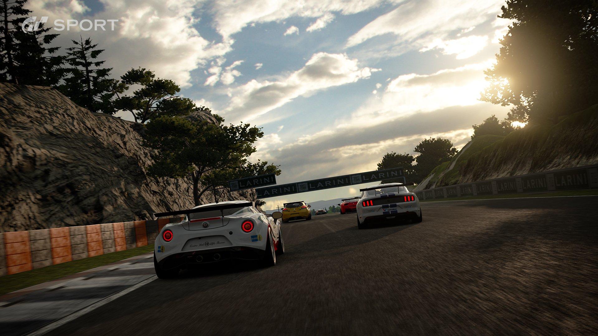 Gran Turismo Sport Dragon Trail 5