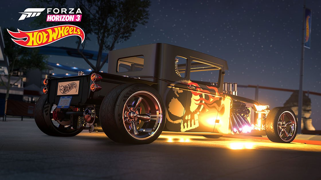 Forza Horizon 3 Hot Wheels Expansion Bone Shaker