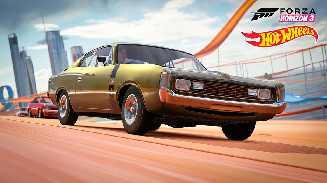Forza Horizon 3 Hot Wheels Expansion Chrysler VH Valiant Charger R/T E49