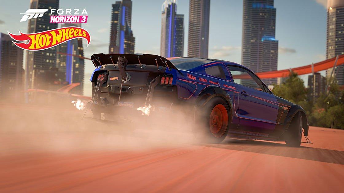 Forza Horizon 3 Hot Wheels Expansion Ford Mustang