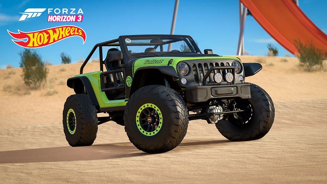 Forza Horizon 3 Hot Wheels Expansion Jeep Trailcat