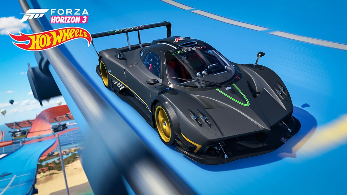 Forza Horizon 3 Hot Wheels Expansion Pagani Zonda R