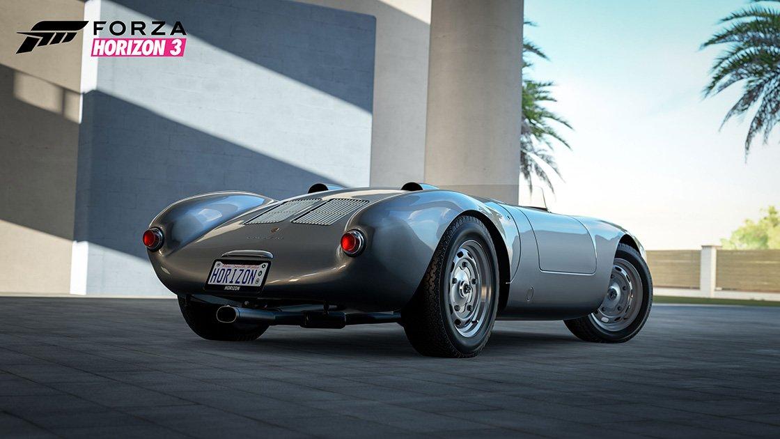 Forza Horizon 3 Porsche Car Pack Porsche 550A Spyder