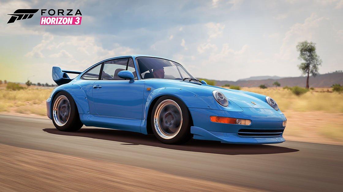Forza Horizon 3 Porsche Car Pack Released Inside Sim