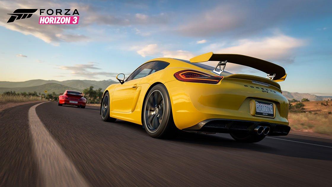 Forza Horizon 3 Porsche Car Pack Porsche Cayman GT4