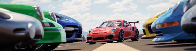 Forza Horizon 3 Porsche Car Pack all cars