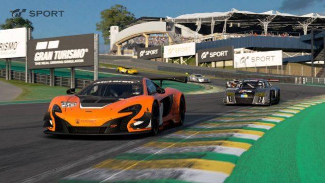 Gran Turismo Sport Interlagos McLaren 650S GT3