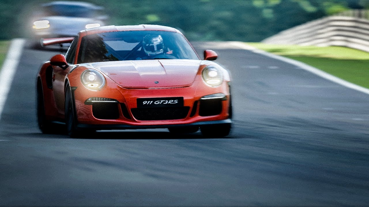 Gran Turismo Sport New Porsche Trailer Released Inside Sim Racing