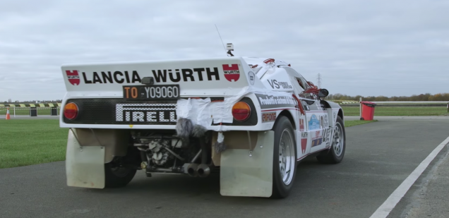 Lancia 037 sound recordings DiRT 4