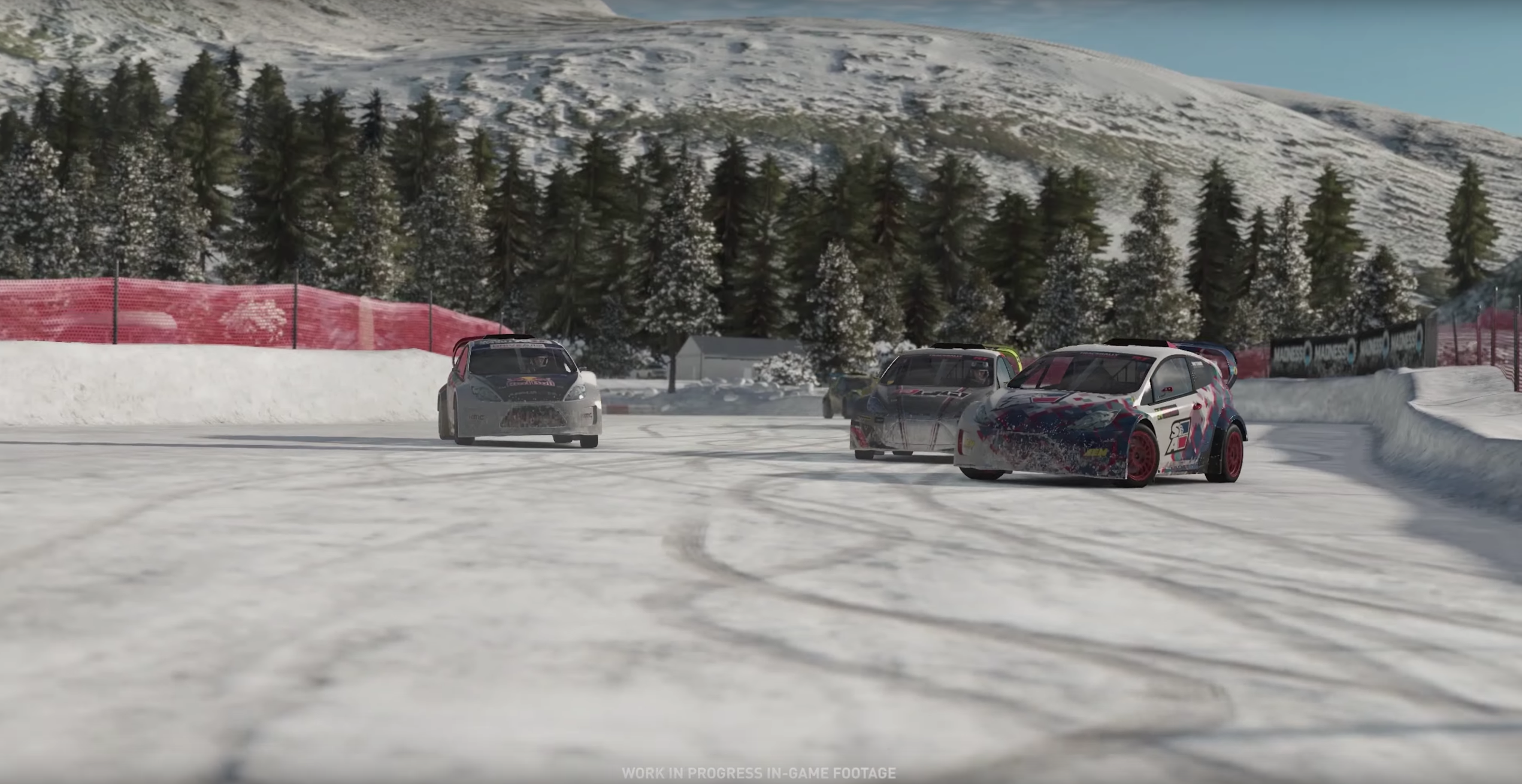Project CARS 2 OMSE Supercar Lite Ford Fiesta RX snow