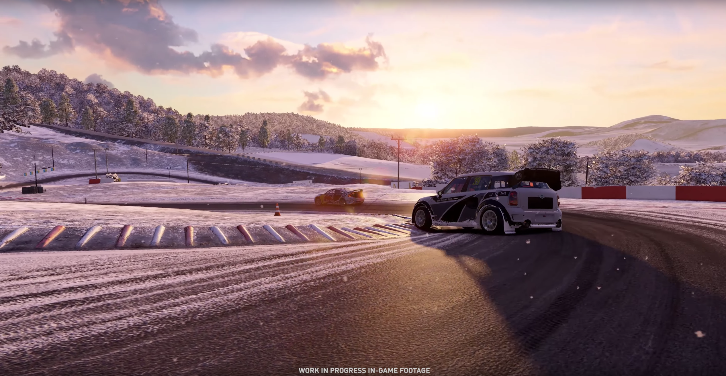 Project CARS 2 OMSE Supercar Lite Mini Countryman RX snow
